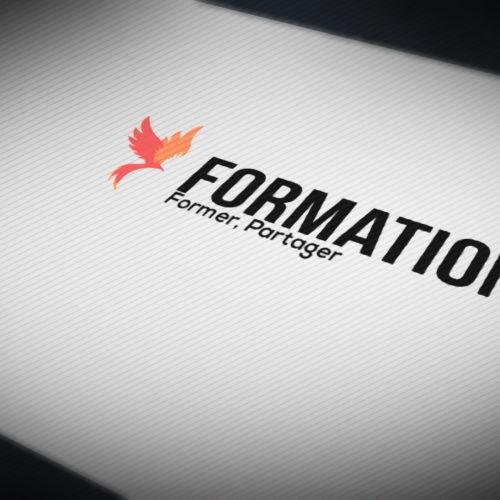 Animation logo formation 31